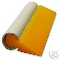 "5-1/2"" Yellow Turbo Squeegee Angled"