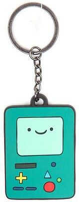 Adventure Time | Rubber BMO Keychain Keyring - Official Merchandise