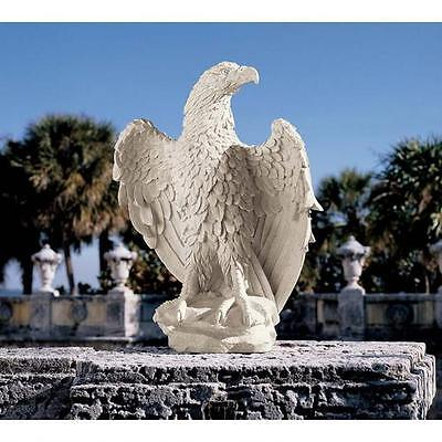 American Stone Finished Eagle Statue. Home Yard & Garden Bird Sculpture Product