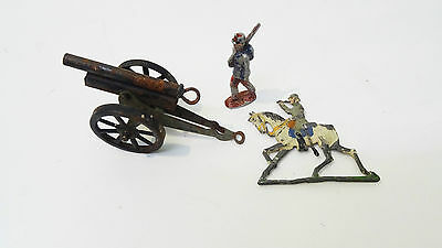 Ancien Canon soldats germany FOREIGN  toy soldiers  Gruppe Figuren ?