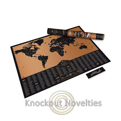 Adventure Map - Personalized World Map Custom Travel Traveling Custome Traveler