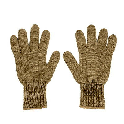 US Army Military Coyote Brown Tan Wool Blend D3A D-3A Warm Glove Liners Inserts