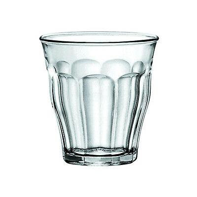 6x Duralex Tumbler, 130mL, Picardie, Commercial Coffee or Beverage Glass