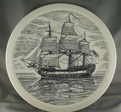 Historical Canadian Vessels H. M. S. Discovery Collector Plate Wedgwood