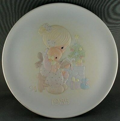 Precious Moments Sam Butcher Tell Me The Story Of Jesus 1985 Collector Plate