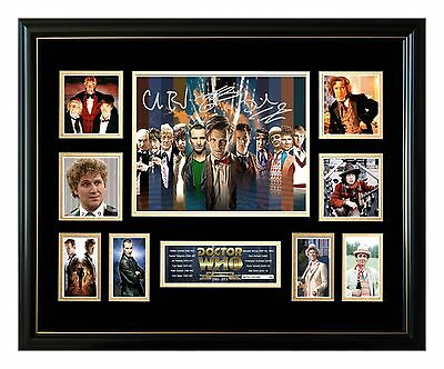 Doctor Who Cast Complete Series Signed Limited Edition Framed Memorabilia