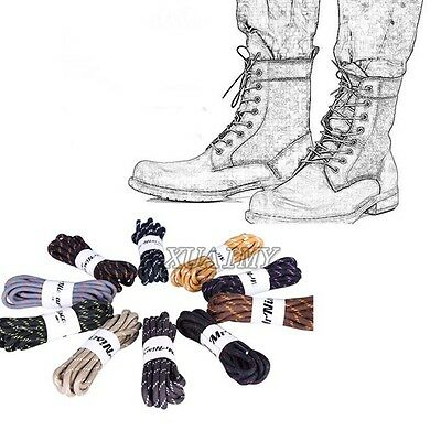 Unisex Round Hiking Skate Boot Mountain Shoe Shoelaces Ropes Strings Shoe Laces