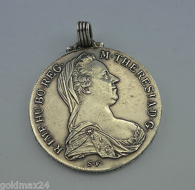 Medaille - Maria Theresia-Anhänger - 1 Taler, 1780 S.F.