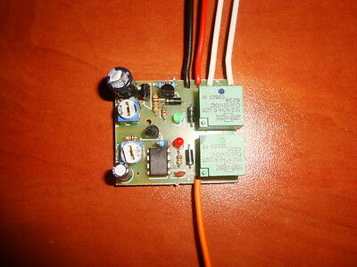 2 In 1 Delay On And Delay Off Car Front Lights Switch Timer Relay Kit 20A 12V