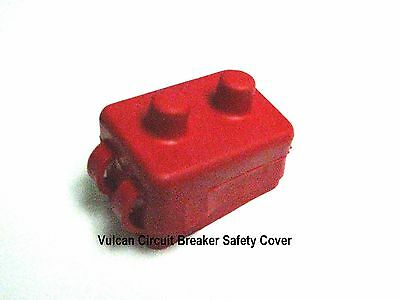 Vulcan Red Shortstop Circuit Breaker Safety Protection Boot Cover
