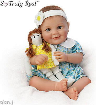 "Ashton Drake Baby Doll ""My Dolly, My Best Friend"" Poseable"