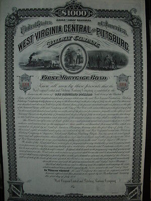 West Virginia Central and Pittsburg Railway Company  1881