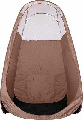 Mobile Spray Tanning Pop up Brown Tent