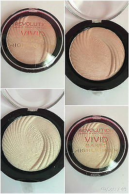 Make Up Revolution Vivid Baked Golden Lights Or Peach Lights Face Highlighter