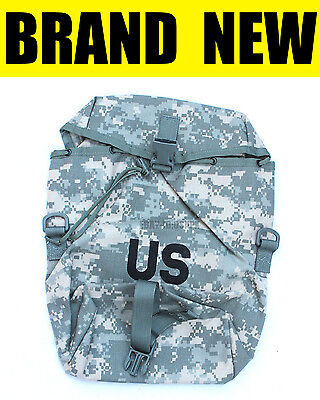 GENUINE US MILITARY camo ACU molle II sustainment pouch army usgi rucksack pack