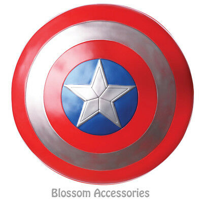 "A638 Captain America Avengers 2 24"" Adult Shield Marvel Hero Costume Accessory"