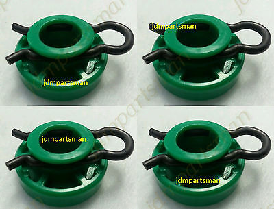 New Saab / Volvo Front Window Regulator Roller Set of 4 # 44 93 433