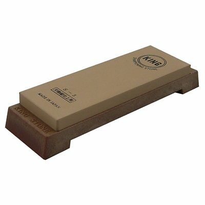 Japanese KING whetstone waterstone sharpening stone #6000 sharpener S-3