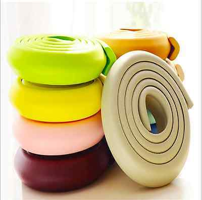 Baby Kids Safety Table Corner Protector Soft Protection Edge Strip