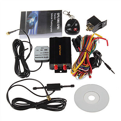 Mini Gps/sms/gprs Tracker Tk103A Vehicle Car Realtime Tracking Device System New