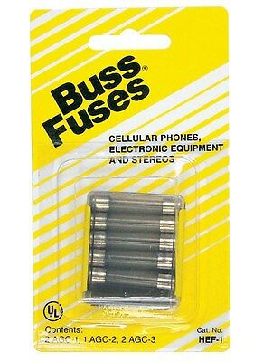 "Bussmann Fuse Communication Equipment 1 Amp 250 V 1/4 "" X 1-1/4 "" Glass Tube 5"