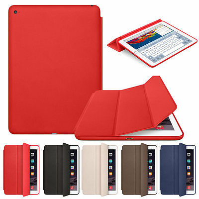 Smart Magnetic Case Slim Leather Stand Fold Cover F iPad 4 3 2 Mini Air Pro 9.7