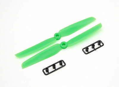 One Pair (2x) Gemfan 6030 5x3 Multirotor Propellers CW and CCW (Green) AU STOCK