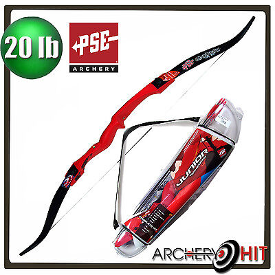 PSE Junior Recurve Bow Package Kids Archery Bow and Arrow Set