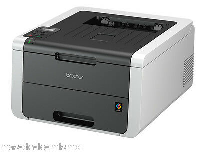 Impresora Laser Color Brother HL-3150CDW WiFi Ethernet y USB LED A4 18ppm 64MB