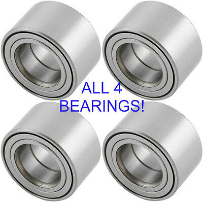 FOUR Yamaha Grizzly Front & Rear Wheel Bearings 2003-2015 550 660 700 (all 4)