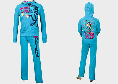 Girls Kids 'Bobby Jack' Tracksuit Top Hoodie Joggers AGE 7/8 10/12 14 16 Years