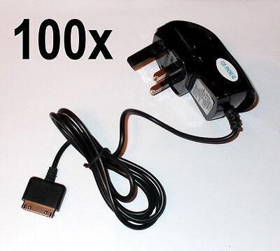 100x iPhone 3 3G 3GS 4 4S Mains Chargers, Wholesale / Job Lot