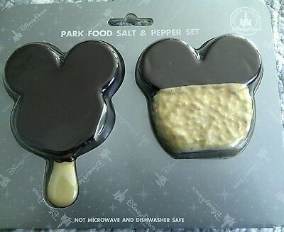 Disney Mickey Mouse Icon Food Salt and Pepper Shaker New in The Package