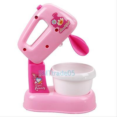Children Kids Kitchen Electric Cake Chocolate Mixer Blender Pretend Play Toy