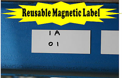 Reusable Magnetic Racking Label Pack of 10 only $8.99