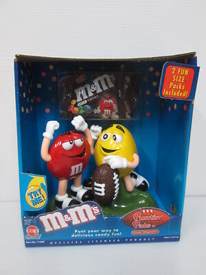 0611 red & yellow &M M&M's PUNTIN PALS dispenser with BOX MISB IN STOCK