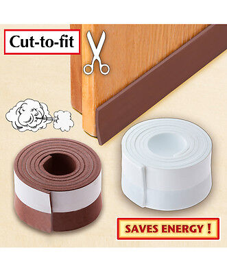 Draught stop under door seal PACK OF 2 Self Adhesive Rolls
