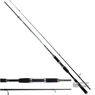 Canna Alcedo Green Line Fast Spin New Pesca Spinning