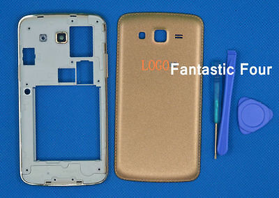 For Samsung Galaxy Grand 2 II G7102 G7106 After middle housing Gold