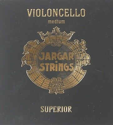 Genuine Jargar Superior Cello String Set  4/4  -Tungsten G and C