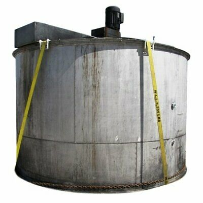Used 3,500 GALLON STAINLESS STEEL TANK WITH MIXER
