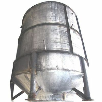 Used 3,000 Gallon Stainless Steel Tank Vertical Liquid