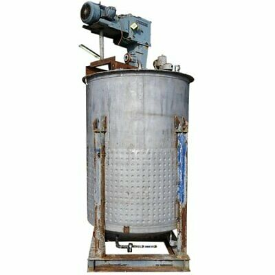Used Stainless Steel Jacketed Mix Tank - 1,650 GALLON