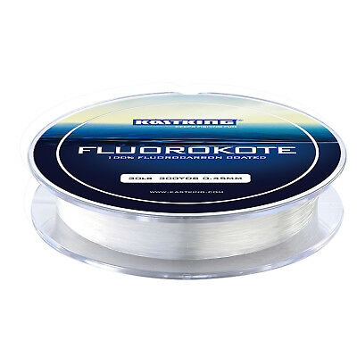 KastKing Fluorokoat Fishing Line 300Yds 4-30LB Fluorocarbon Coated Fishing Line