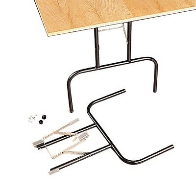 "Waddell Folding Banquet Table Legs 29"" H X 24""W Black"