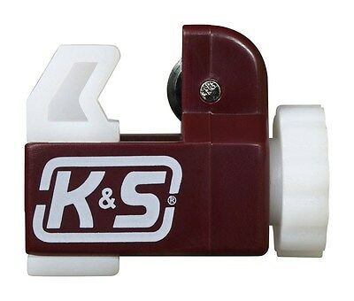 K&S Tubing Cutter Aluminum, Brass, Copper, Nylon Carded