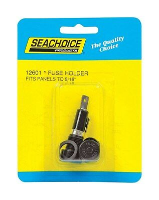 Seachoice Panel Mounted Fuse Holder 12 V 1/4 In. X 1-1/4 In.