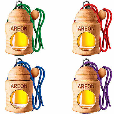 SPECIAL OFFER 4 Piece Air Freshener - Areon FRESCO Scent Tree Car SELECTION