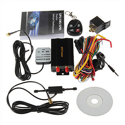 Mini Gps/sms/gprs Tracker Tk103B Vehicle Car Realtime Tracking Device System New