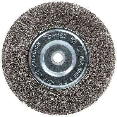 "Forney Wire Wheel Brush 6 "" Crimp"
